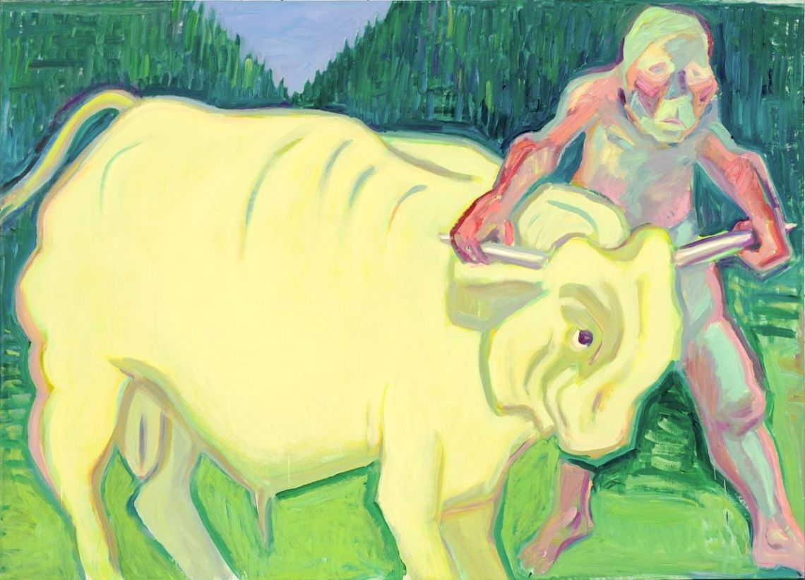 Maria_lassing_grab_the_bull_by_the_horns